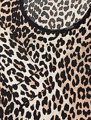 Ganni - LS Bodystocking - body - leopard - 2