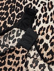 Ganni - LS Bodystocking - body - leopard - 3
