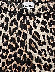 Ganni - Short Leggings - cykelshorts - leopard - 2
