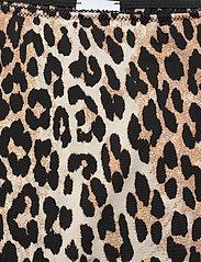 Ganni - Slip Skirt - kort skjørt - leopard - 2