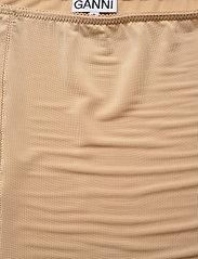 Ganni - Slip Skirt - bodies & slips - tannin - 2