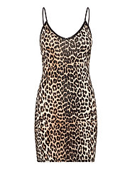 Slip Dress - LEOPARD