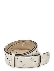 Studded Belt - EGRET