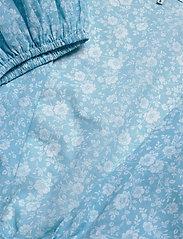 Ganni - Wrap Top - strandtøj - alaskan blue - 2
