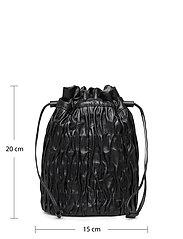 Ganni - Napa - bucket bags - black - 4