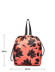 Ganni - Recycled Tech Fabric Bags - tasker - flame - 4