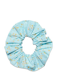 Printed Cotton Poplin - CORYDALIS BLUE