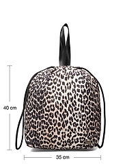 Ganni - Recycled Tech Fabric Bags - bags - leopard - 3