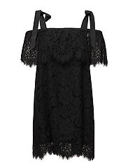 Duval Lace Dress - Black
