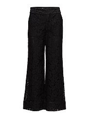 Jerome Lace Pants - BLACK