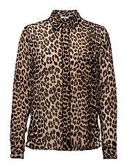 Fairfax Georgette - Leopard