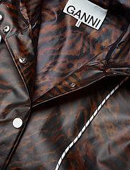 Ganni - Biodegradable Jacket - vêtements de pluie - tiger - 3