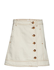 Heavy Twill Skirt - VANILLA ICE