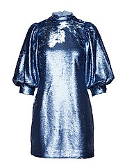 Sequins Mini Dress - FOREVER BLUE