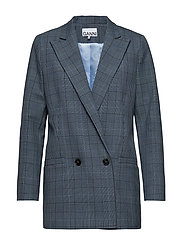 Suiting Blazer - FOREVER BLUE