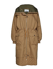 Double Cotton Jacket - TIGER'S EYE