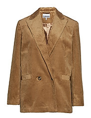 Corduroy Blazer - TIGER'S EYE