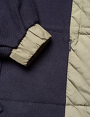 Ganni - Tech/Wool - wełniane kurtki - sky captain - 6