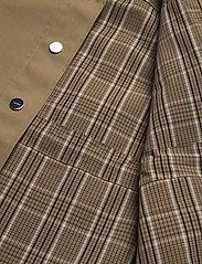 Ganni - Double Cotton - kurtki użytkowe - tannin - 6