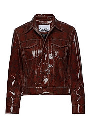 Snake Foil Leather - DECADENT CHOCOLATE
