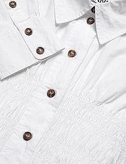 Ganni - Cotton Poplin - chemises à manches longues - bright white - 2