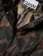 Ganni - Thermoshell - vêtements de pluie - maxi leopard - 3