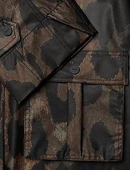 Ganni - Thermoshell - vêtements de pluie - maxi leopard - 4