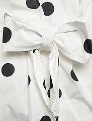 Ganni - Recycled Polyester - korte kjoler - egret - 3