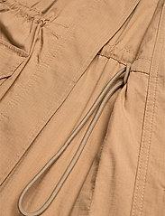 Ganni - Ripstop Cotton Chino - utility-jakker - tannin - 7