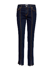Light Stretch Denim - DARK INDIGO