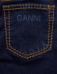 Ganni - Light Stretch Denim - slim jeans - dark indigo - 4