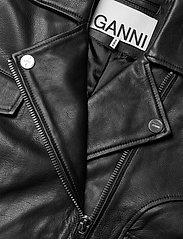Ganni - Light Grain Leather - nahkatakit - black - 3