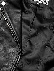 Ganni - Light Grain Leather - nahkatakit - black - 5