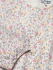 Ganni - Printed Georgette - langærmede bluser - egret - 2