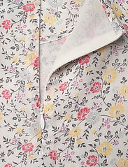 Ganni - Printed Georgette - langærmede bluser - egret - 3