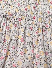 Ganni - Printed Georgette - korte nederdele - egret - 2