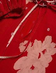 Ganni - Pleated Georgette - midi kjoler - lollipop - 2