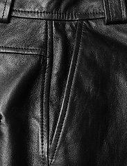 Ganni - Lamb Leather - nahka - black - 2