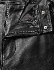 Ganni - Lamb Leather - nahka - black - 3