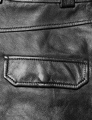 Ganni - Lamb Leather - nahka - black - 4