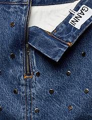 Ganni - Stud Denim - jeansowe spódnice - denim - 3