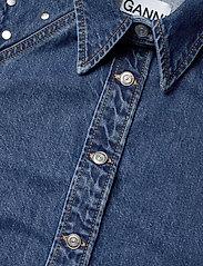 Ganni - Stud Denim - jeansblouses - denim - 2