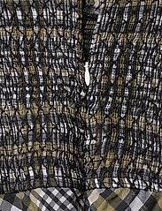 Ganni - Seersucker Check - midi kjoler - kalamata - 3