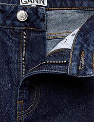 Ganni - Basic Denim - mom jeans - dark indigo - 3