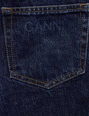Ganni - Basic Denim - mom jeans - dark indigo - 4