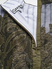 Ganni - Feathery Cotton - midi kjoler - kalamata - 4