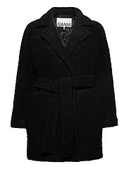 Boucle Wool - BLACK