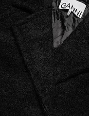 Ganni - Boucle Wool - uldjakker - black - 2