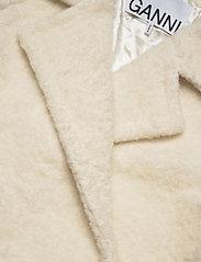 Ganni - Boucle Wool - wool jackets - egret - 2