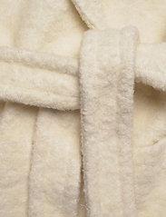 Ganni - Boucle Wool - wool jackets - egret - 5